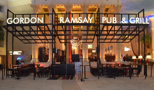 Gordon Ramsay Bar & Grill. Credit: Caesars AC