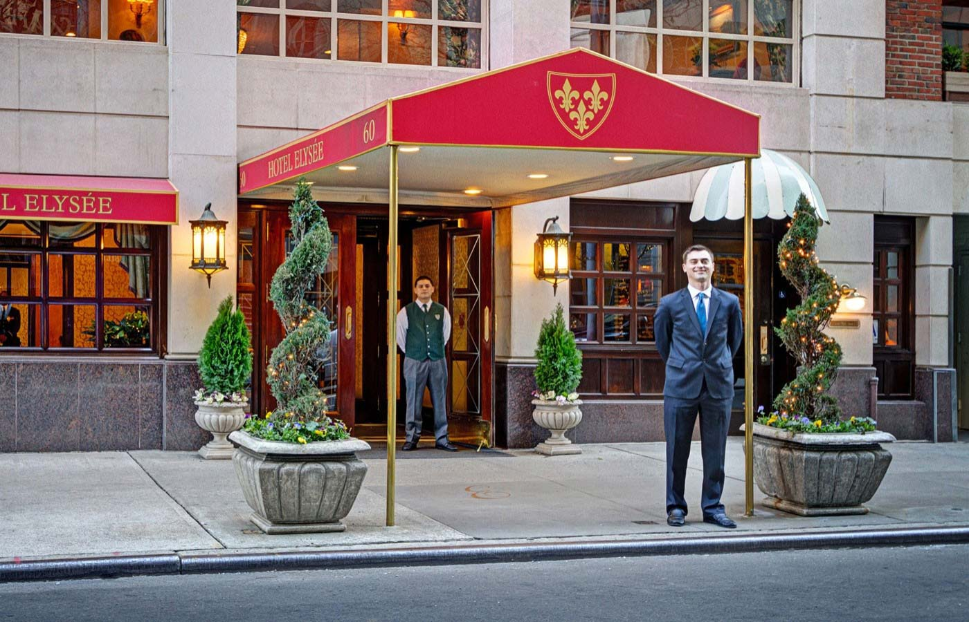 Hotel elysee the hot zone for Best boutique hotels nyc 2016