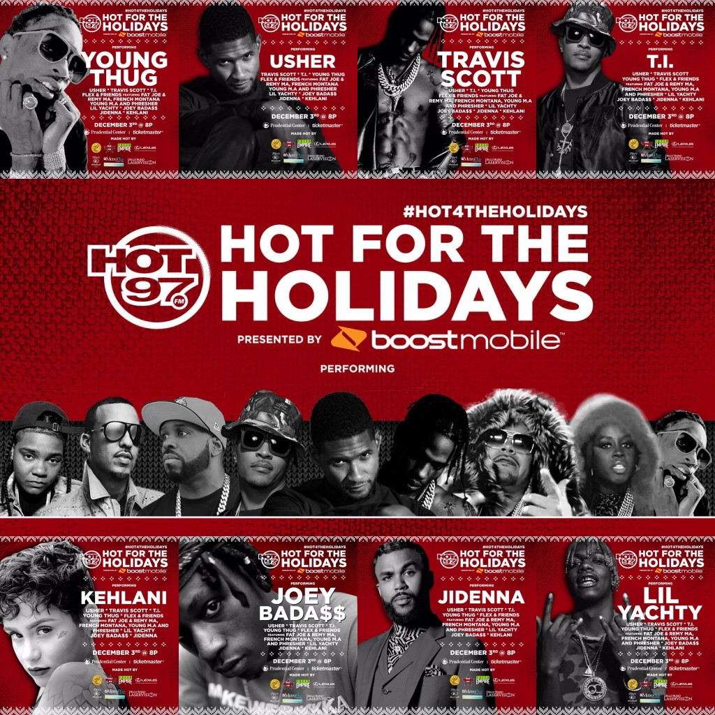 Hot4TheHolidays 2016 / Photo Cred: Hot 97 / Maybs Mini
